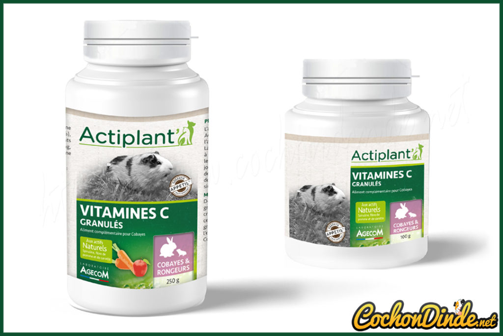 Granulés de vitamine c Actiplant'.