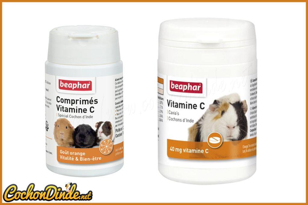 Comprime vitamine c Beaphar.