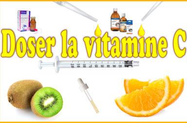 Doser la vitamine c cochon d'Inde.