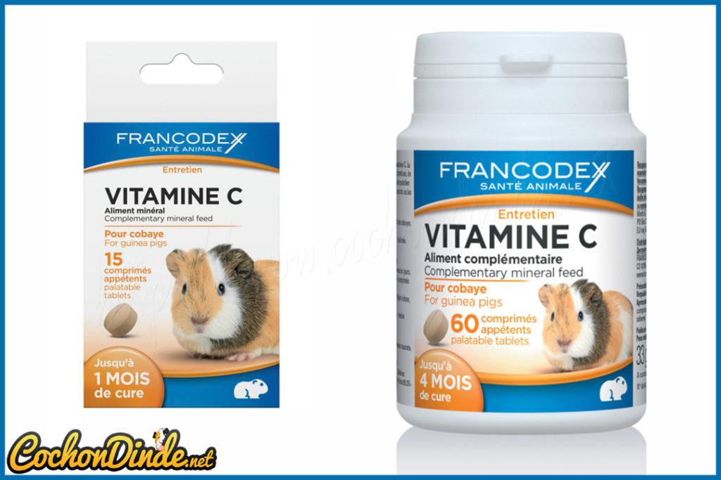 Comprimés de vitamine c Francodex.