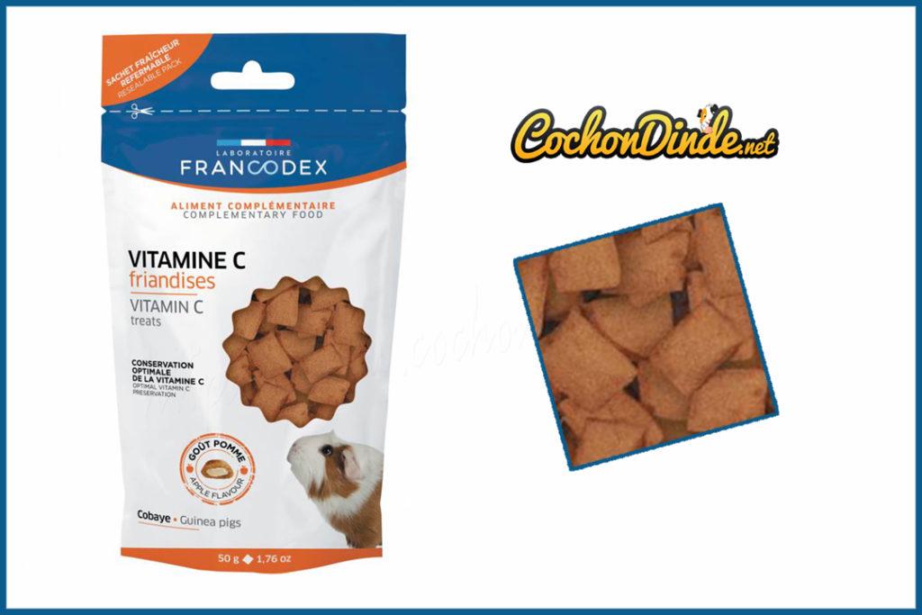 Friandise vitamine c Francodex.